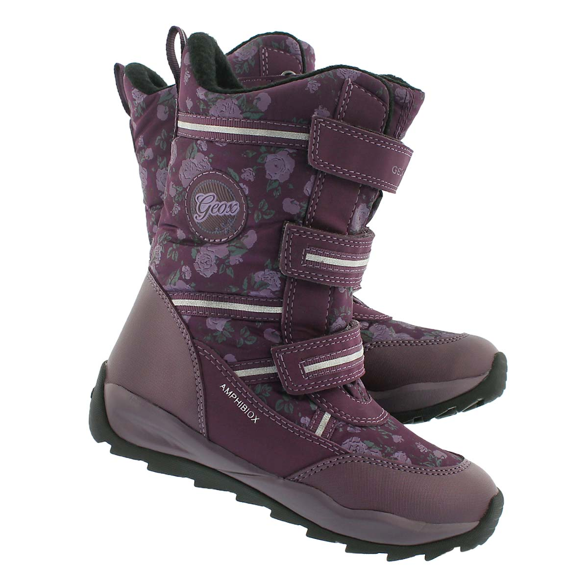 Grls Orizont dk purple winter boot