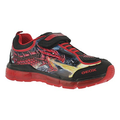 Bys Android blk/red sneaker