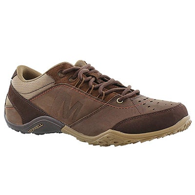 Merrell Men's WRAITH FIRE dark earth hiking shoes