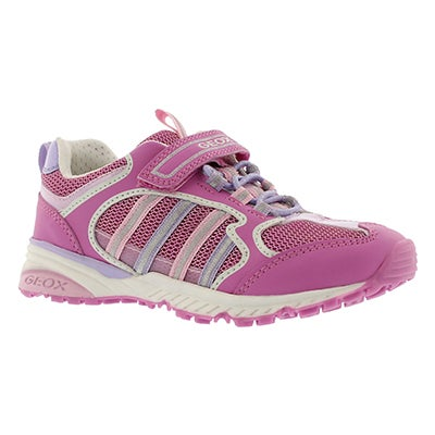 Geox Girls' BERNIE fuchsia/lilac running shoes
