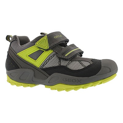 Bys New Savage grey/lime sneaker