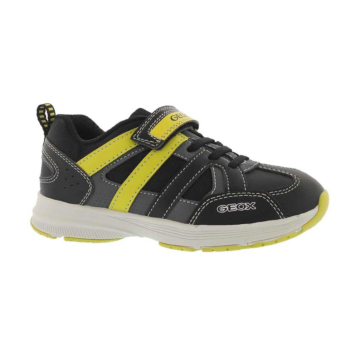 Boys' TOP FLY black/lime sneakers