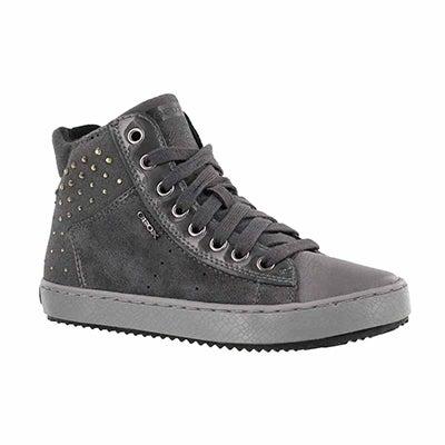 Grls Kalispera dk grey high top sneaker