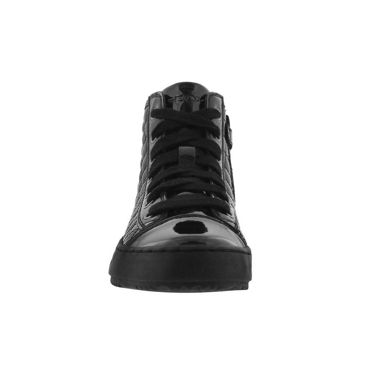 Grls Kalispera black high top sneaker