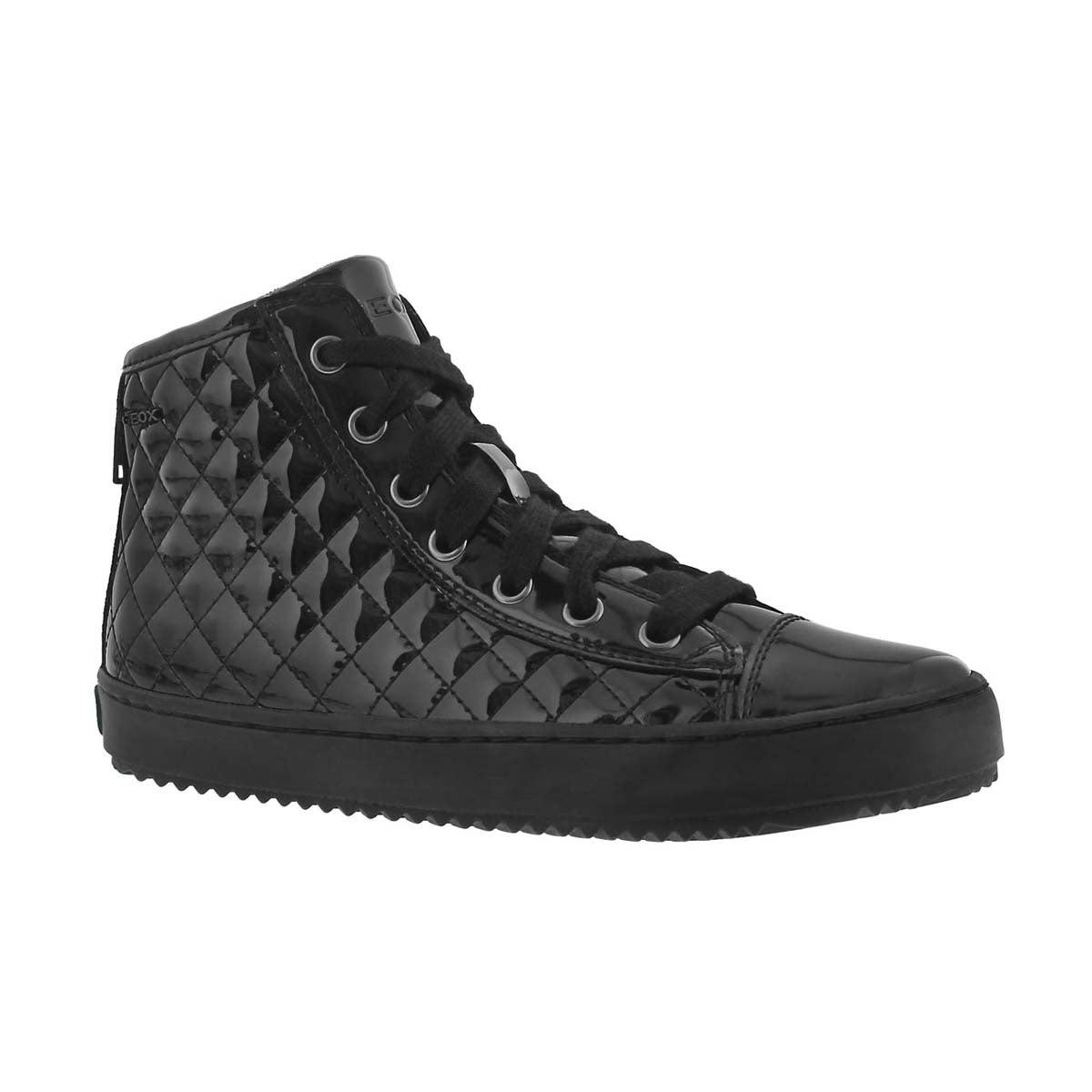 Girls' KALISPERA black high top sneakers