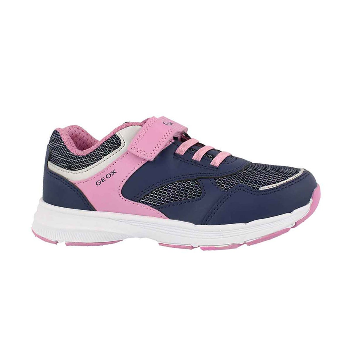 Girls' J HOSHIKO navy/pink sneakers