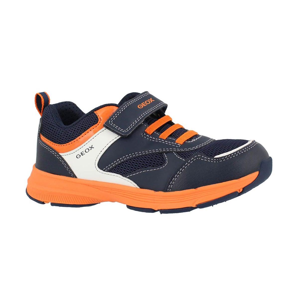 Boys' J HOSHIKO navy/orange sneakers