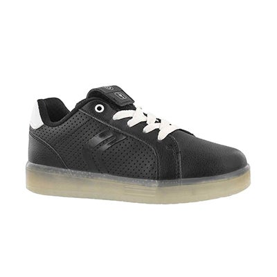 Bys Kommodor blk/wht lace up sneaker