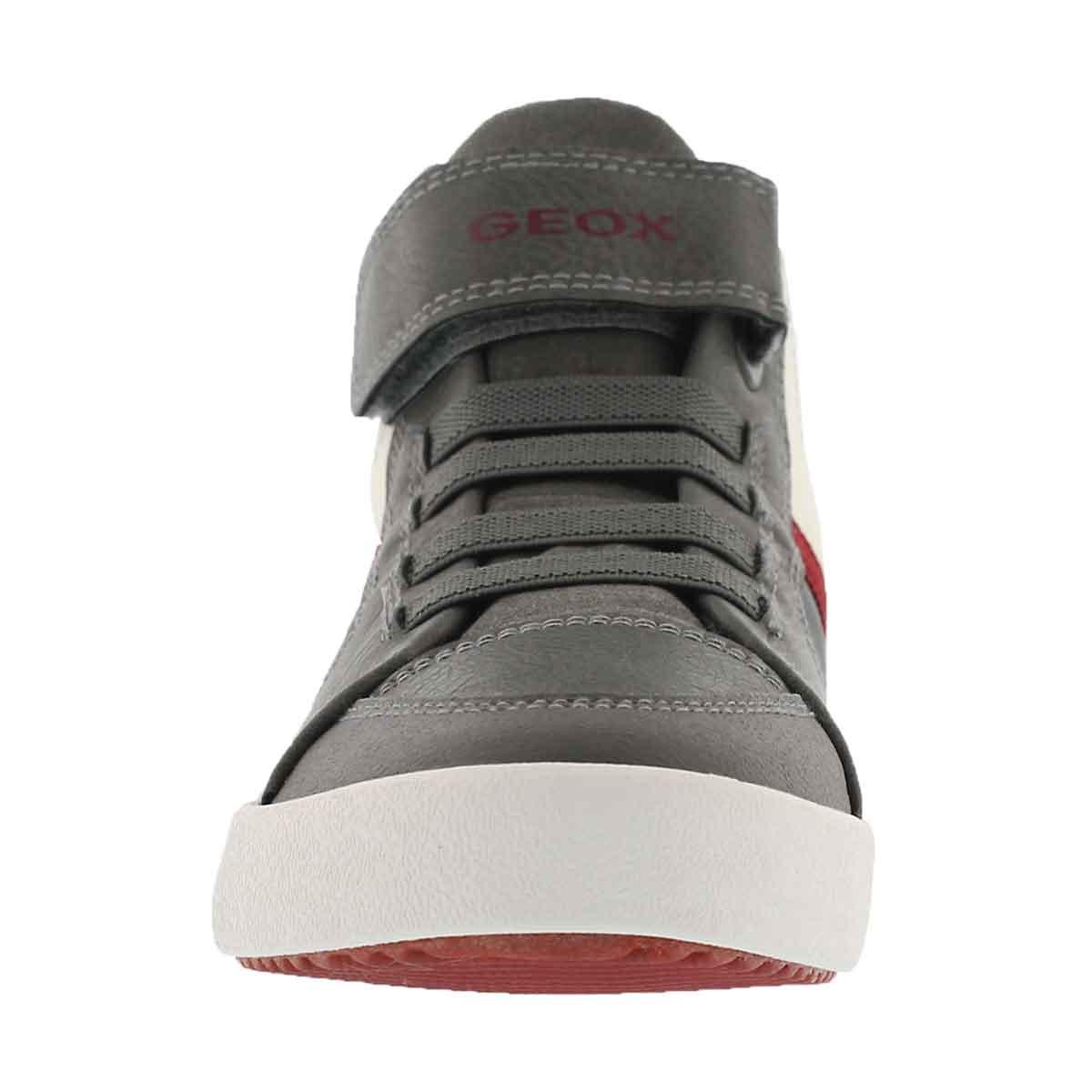 Bys J Gisli Hi anthracite sneaker