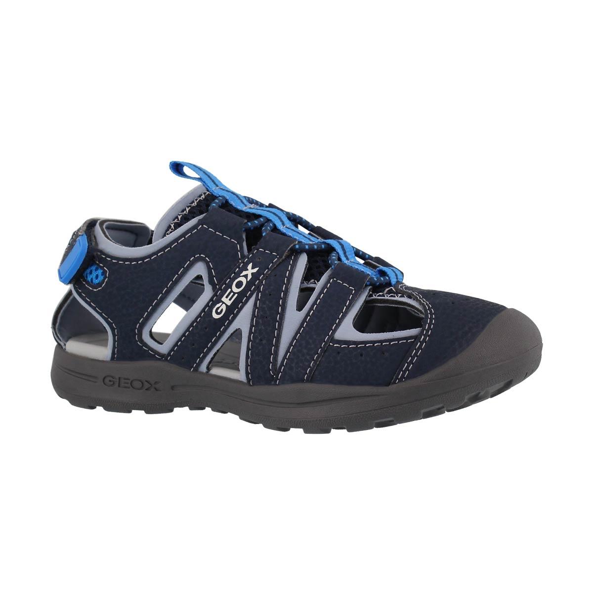 Boys' VANIETT navy/sky fisherman sandals