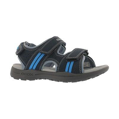 Bys J Vaniett nvy/sky sport sandal