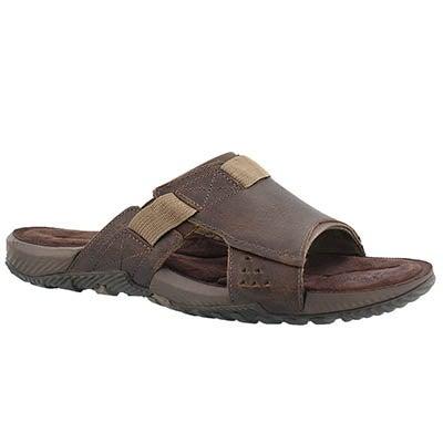 Mns Terrant Slide dark earth sandal