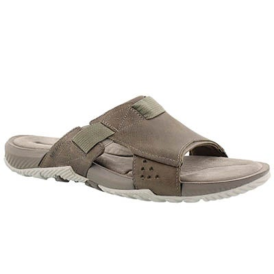 Mns Terrant Slide brindle sandal