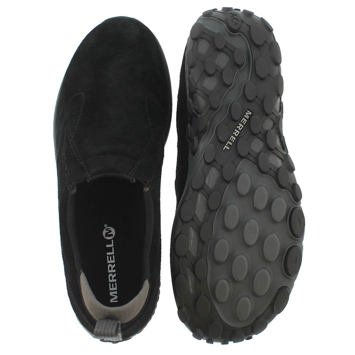 Mns Jungle Moc AC+ black slip on shoe