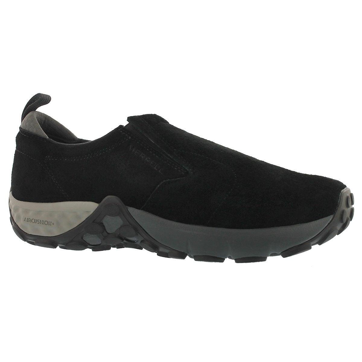 Men's JUNGLE MOC AC+ black slip on shoes