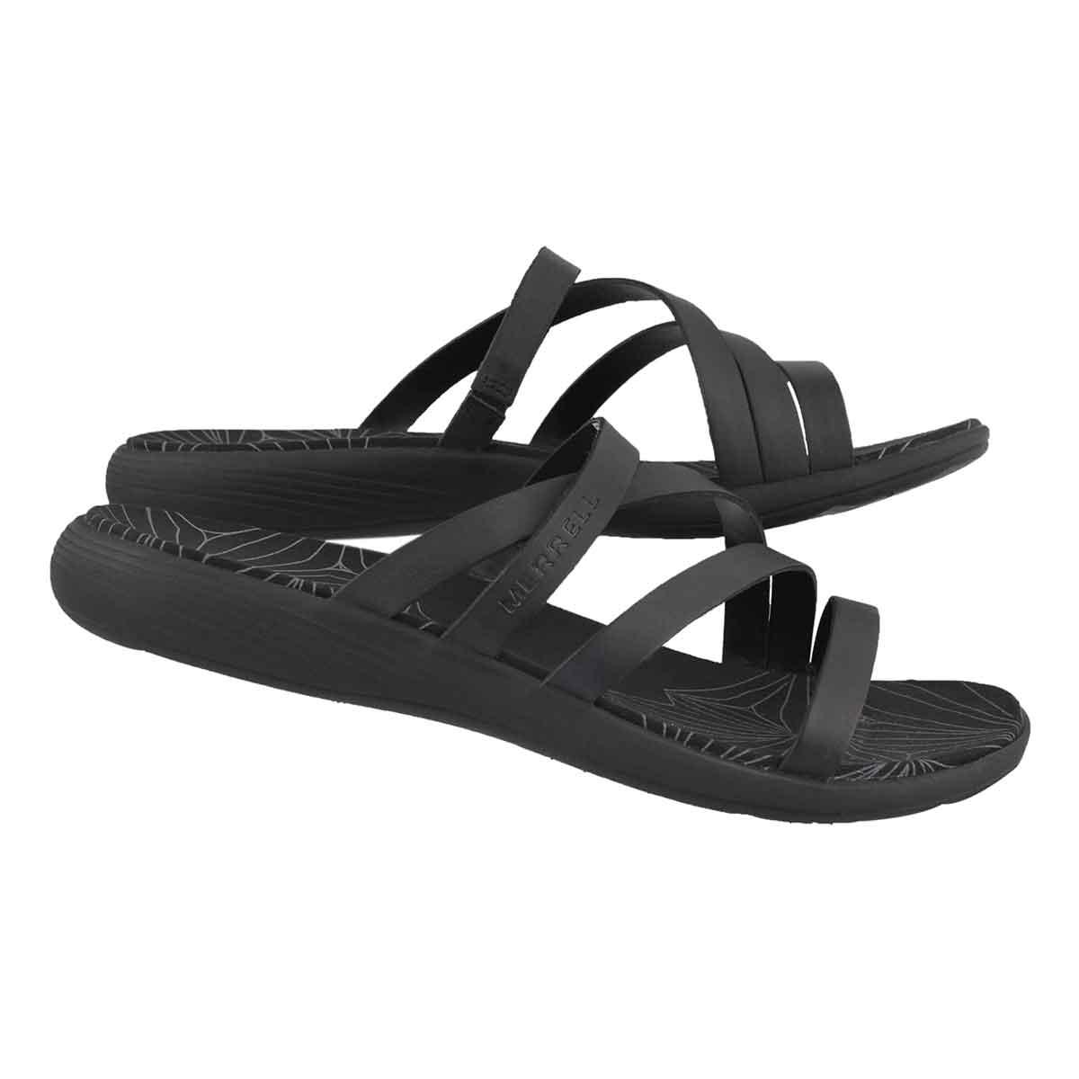 Lds Duskair Seaway Slide black sandal