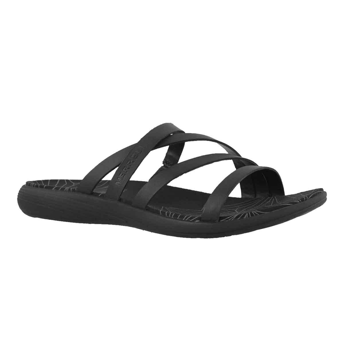 Women's DUSKAIR SEAWAY SLIDE black sandals