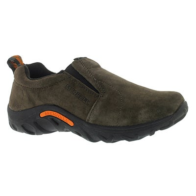 Merrell Boys' JUNGLE MOC gunsmoke sport mocs