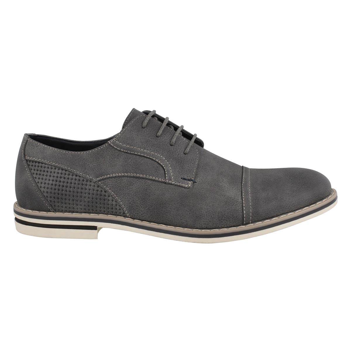 Mns Jack grey lace up casual oxford