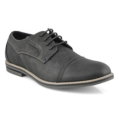 Mns Jack2 black lace up casual oxford
