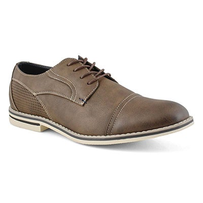 Mns Jack2 cognac lace up casual oxford