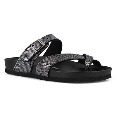 Sandale de confort Jackie-O, grise, fem.