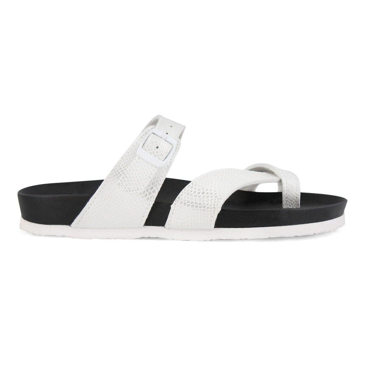 Sandale de confort Jackie-O, blanche,fem