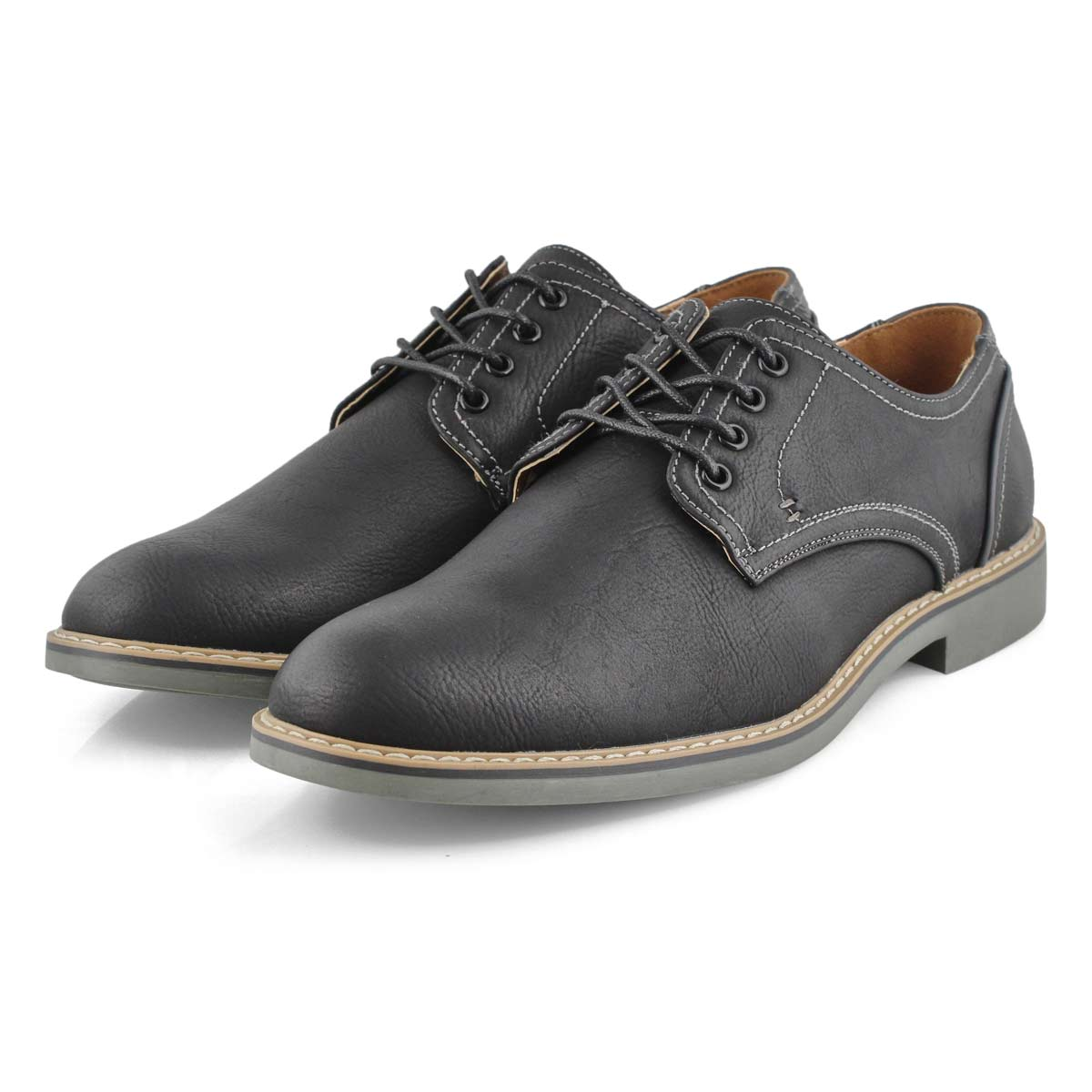 Mns Jamie black lace up casual oxford