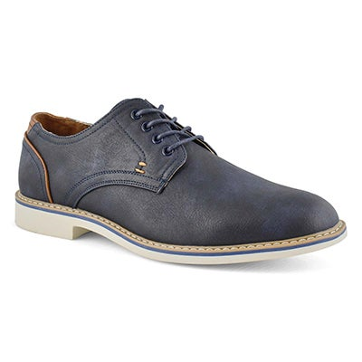 Mns Jamie navy lace up casual oxford