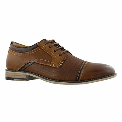 Mns Jarco dk tan laceup dress oxford