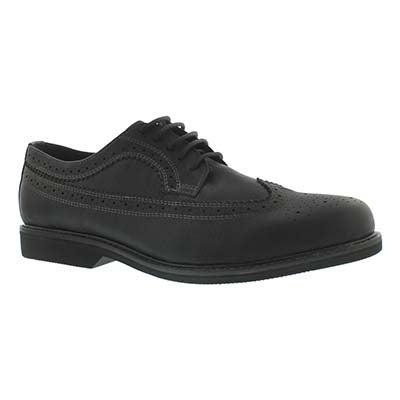 Mns Jared blk lthr oxford dress shoe