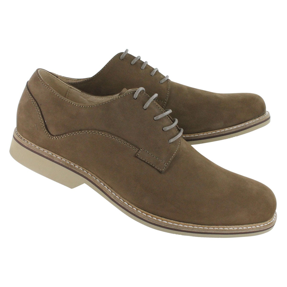 Mns Jax taupe nubuck oxford dress shoe