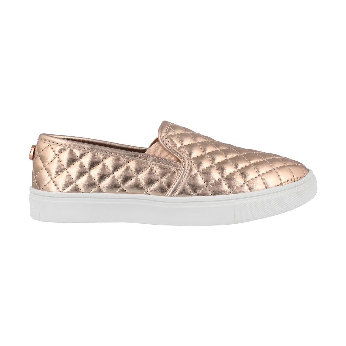 Grls J Ecentrcq rose gold casual slip on