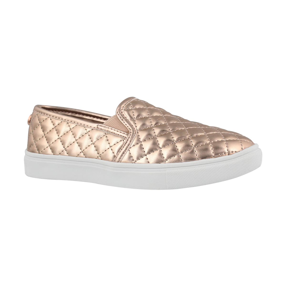 b41e4eebfc4 Girls' ECENTRCQ rose gold casual slip ons