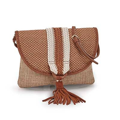Lds JEmery natural cross body bag