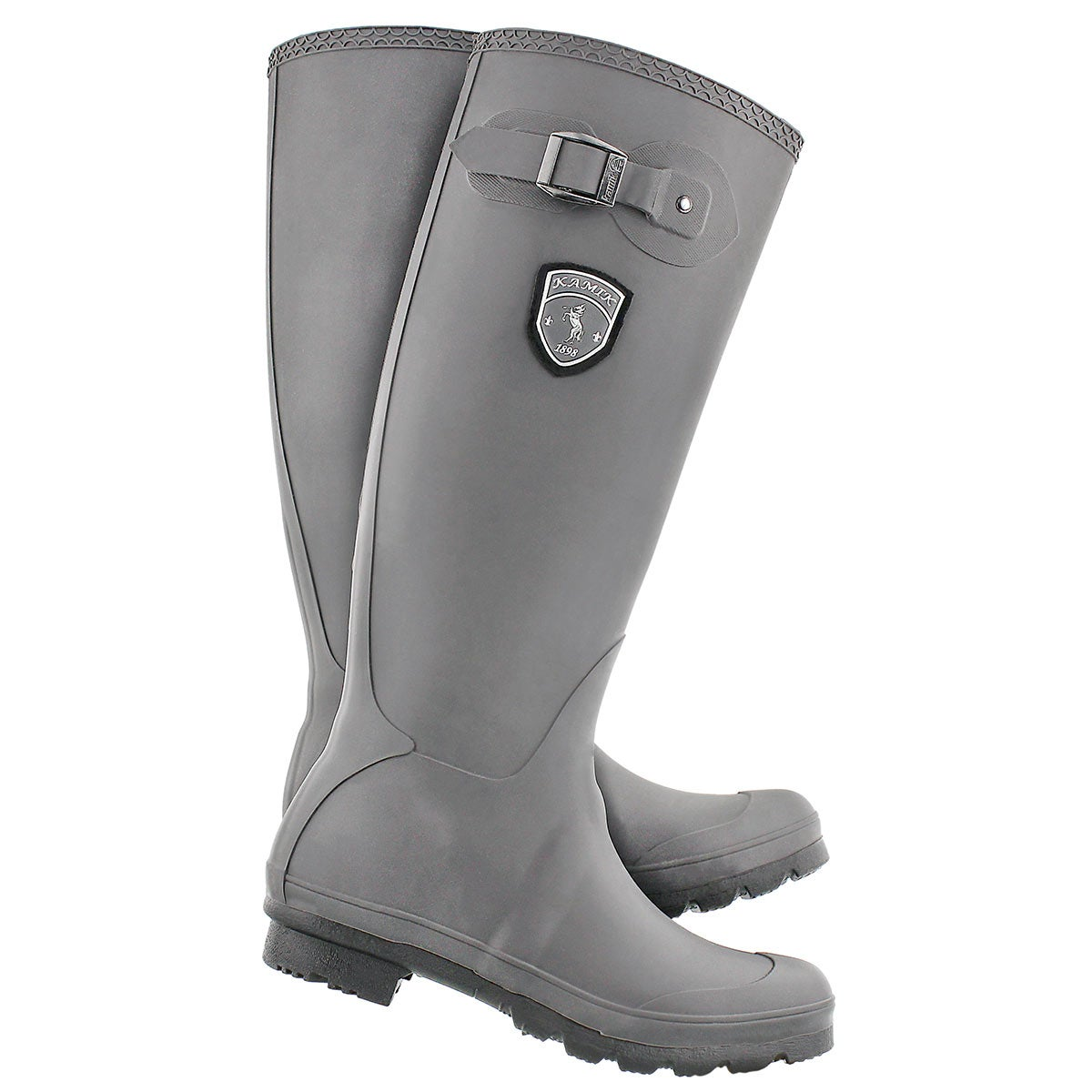 Lds Jennifer charc side buckle rain boot