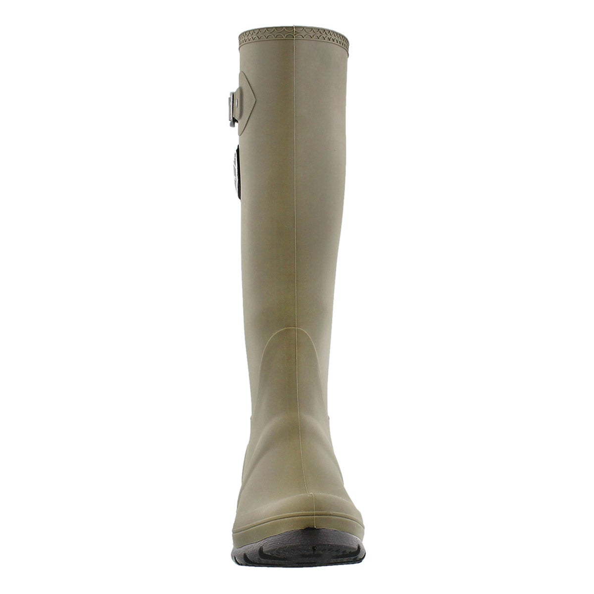 Lds Jennifer olive side buckle rain boot