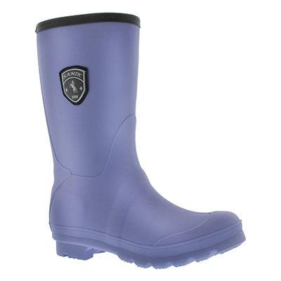 Kamik Women's JENNY periwinkle mid rain boots