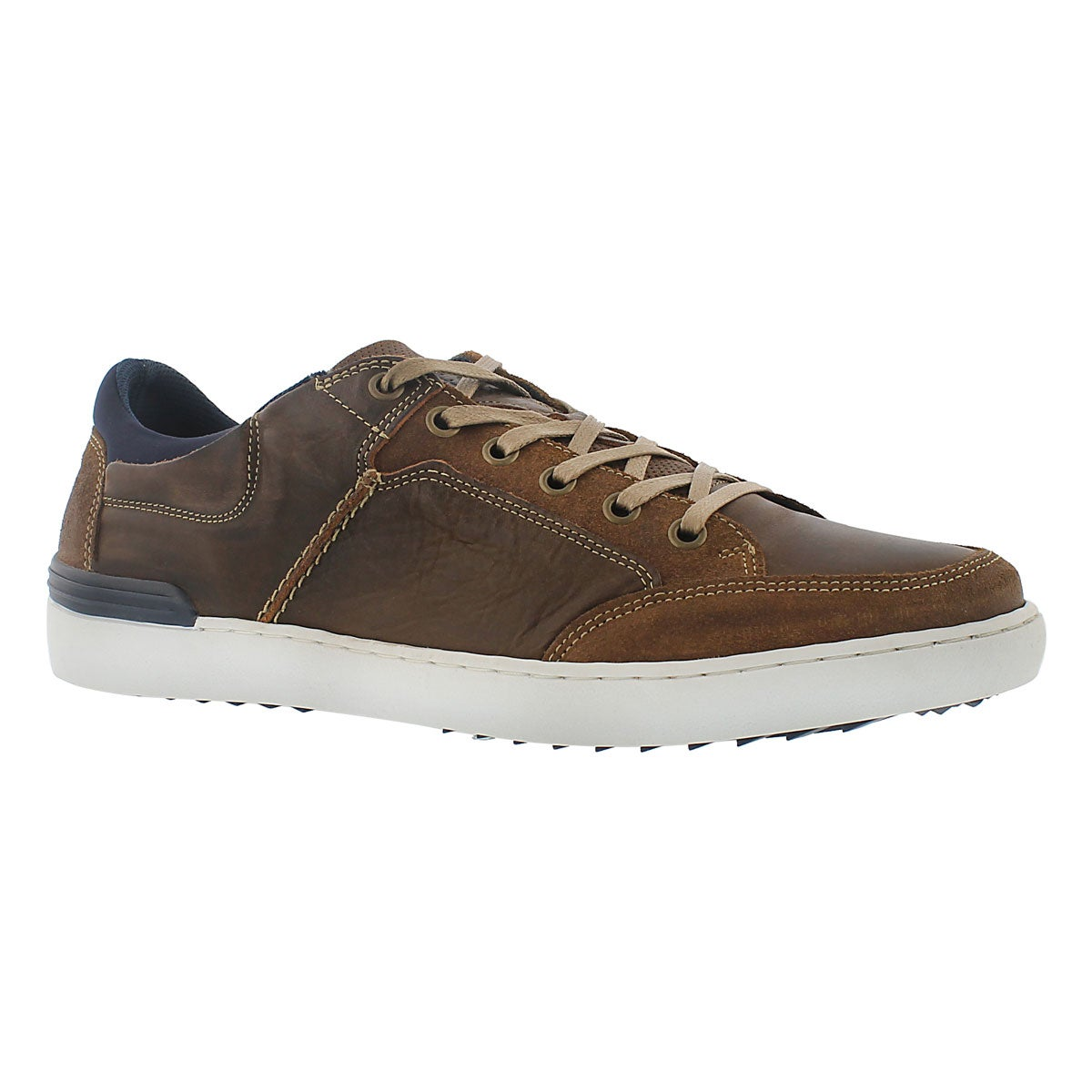 Men's JEREMY camel lace up fashion sneakers