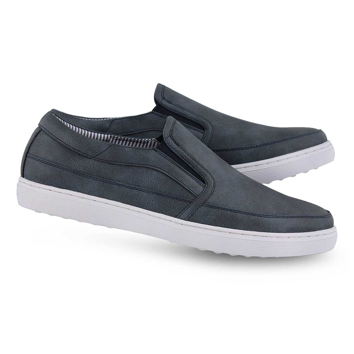 Mns Jerod navy casual slip on