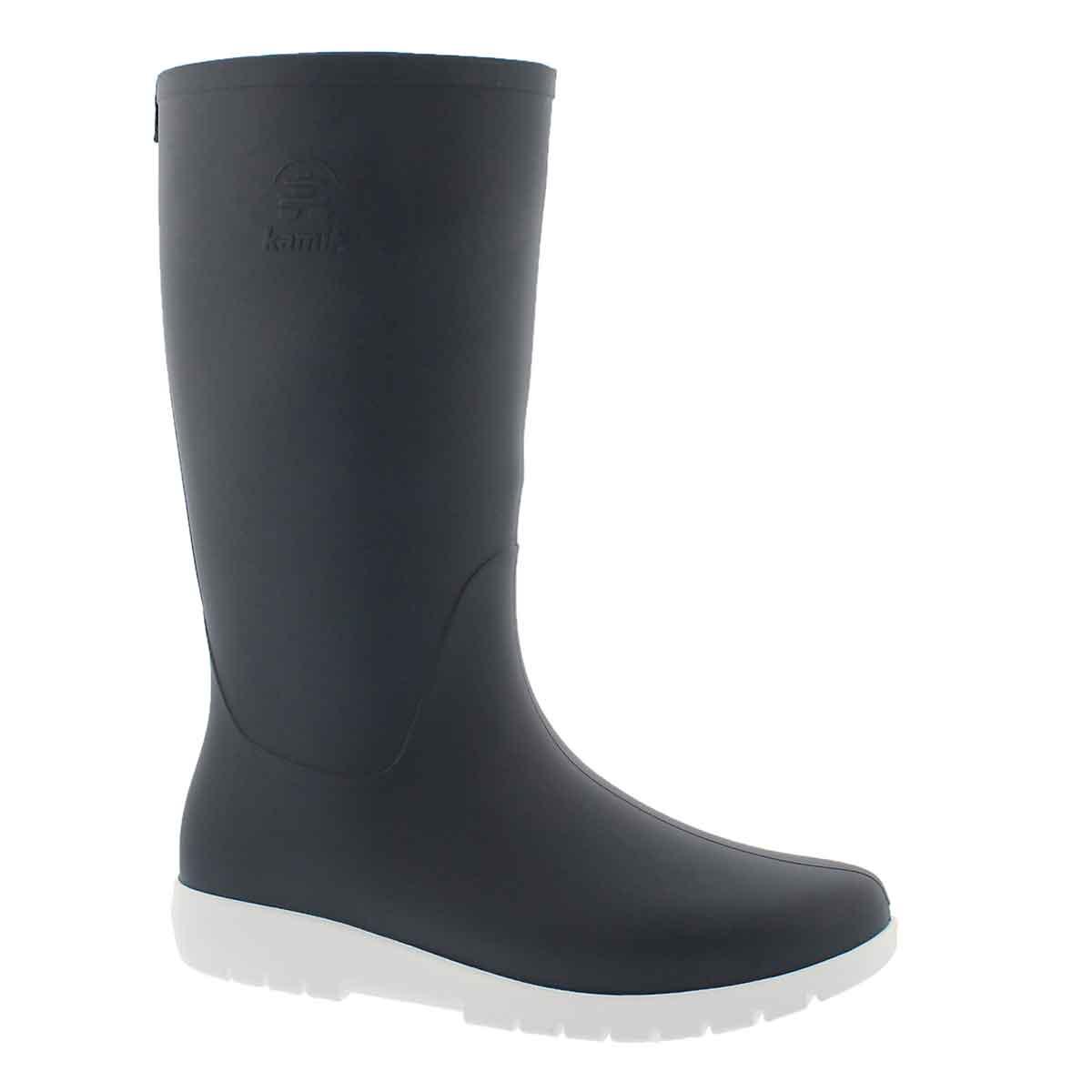 Women's JESSIE navy mid waterproof rain boots