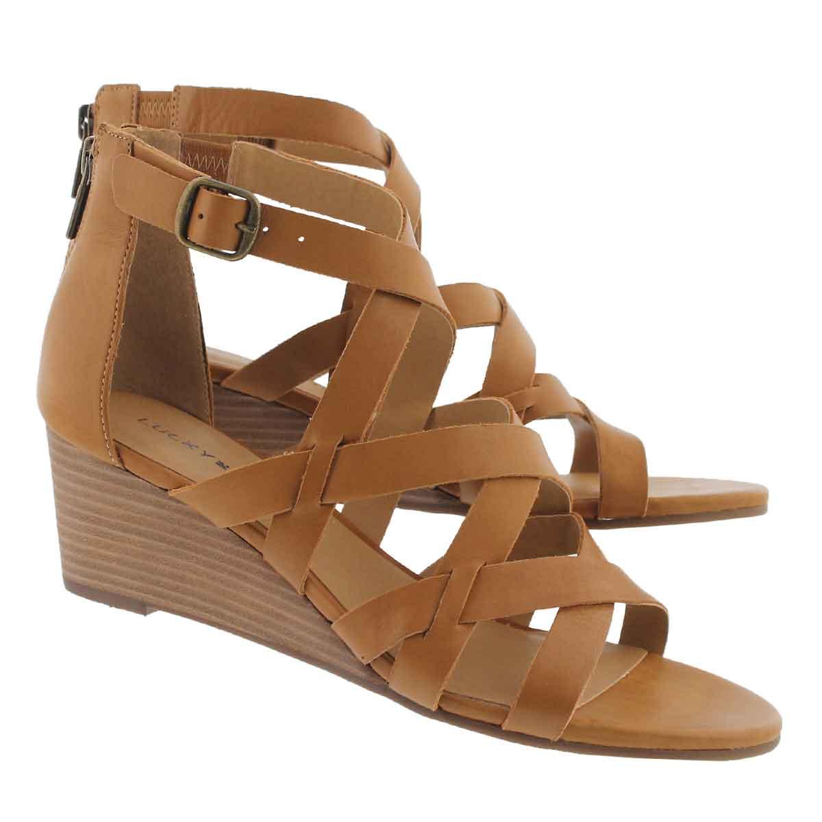 Lds Jewelia sandy wedge sandal