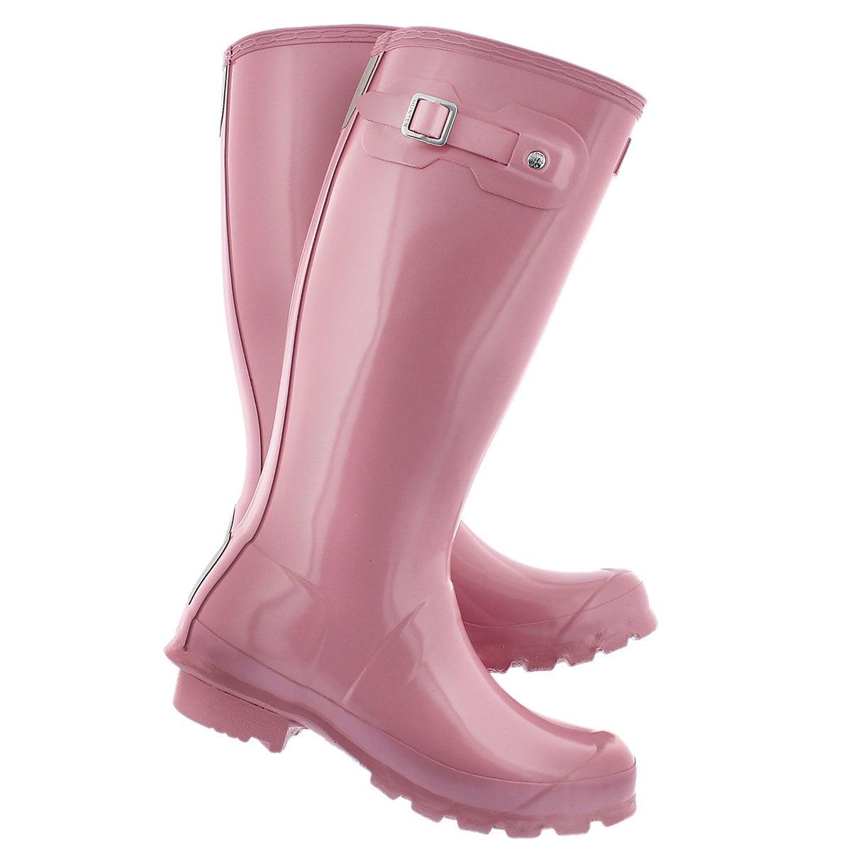 Botte de pluie Orig. Gloss, rose, filles