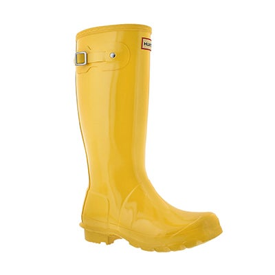 Hunter Girls' ORIGINAL GLOSS sunlight rain boots