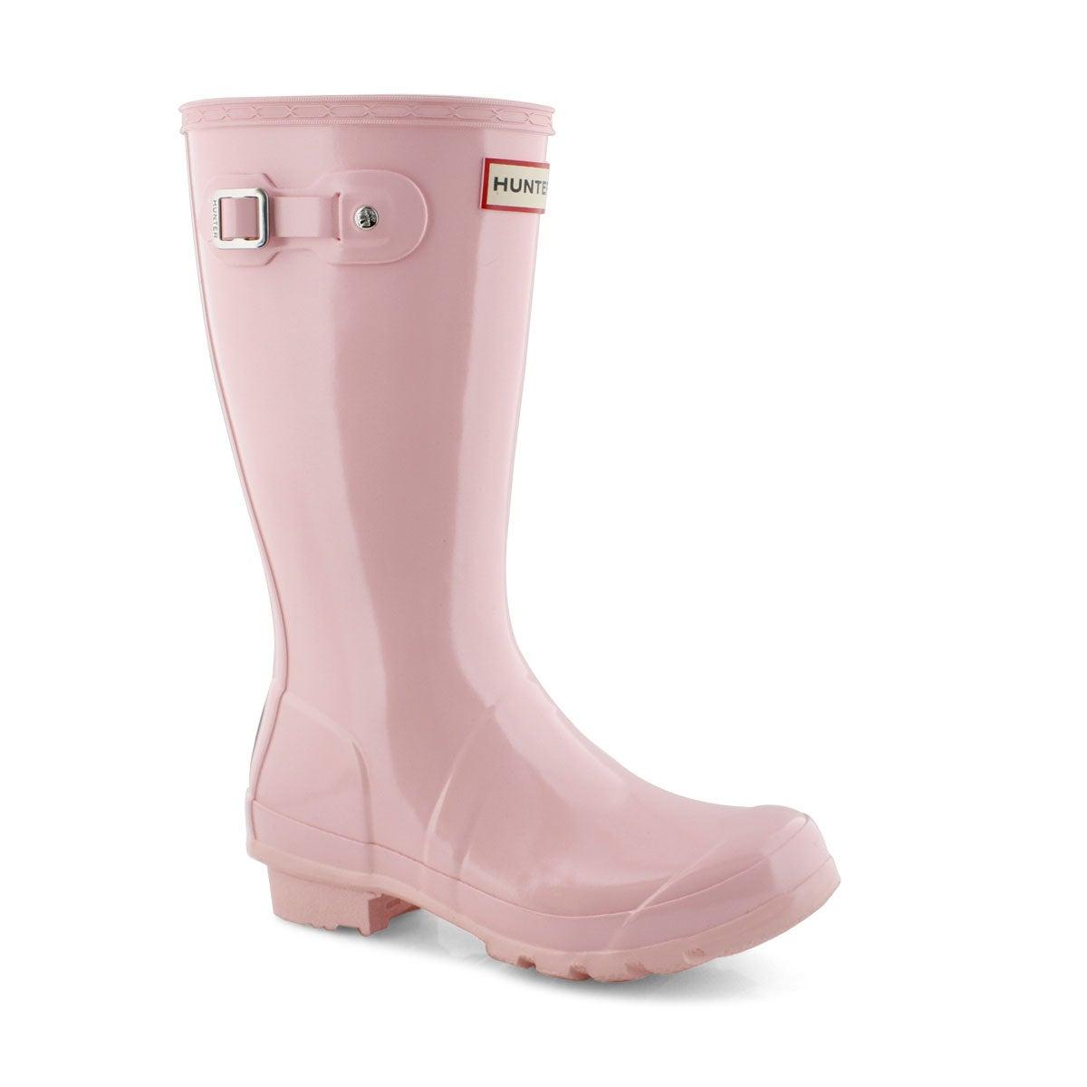 Grls Original Gloss pink rain boot