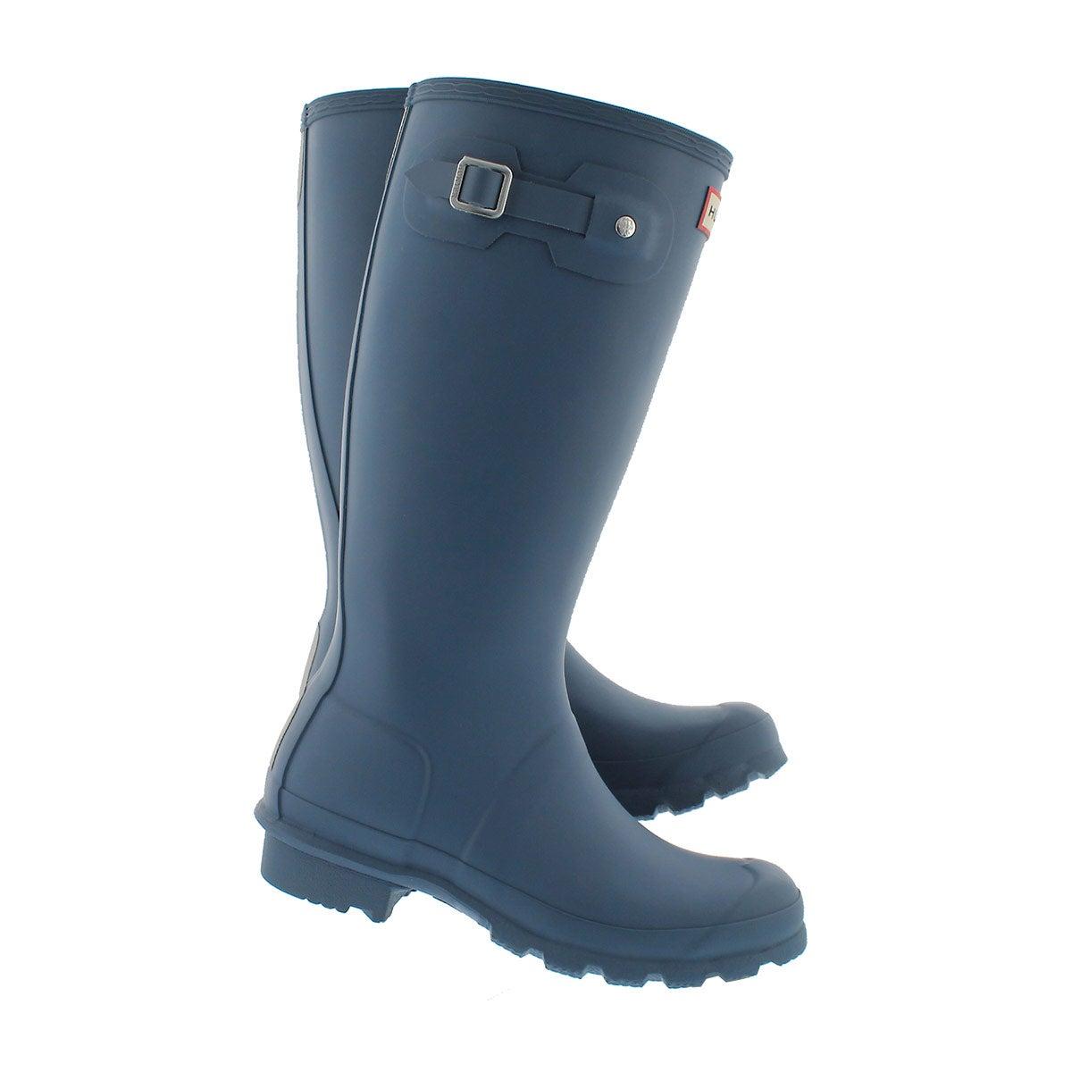 Grls Original Young earth blue rain boot
