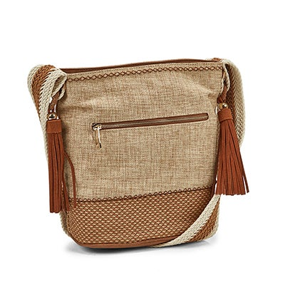 Lds JHunter natural tote bag