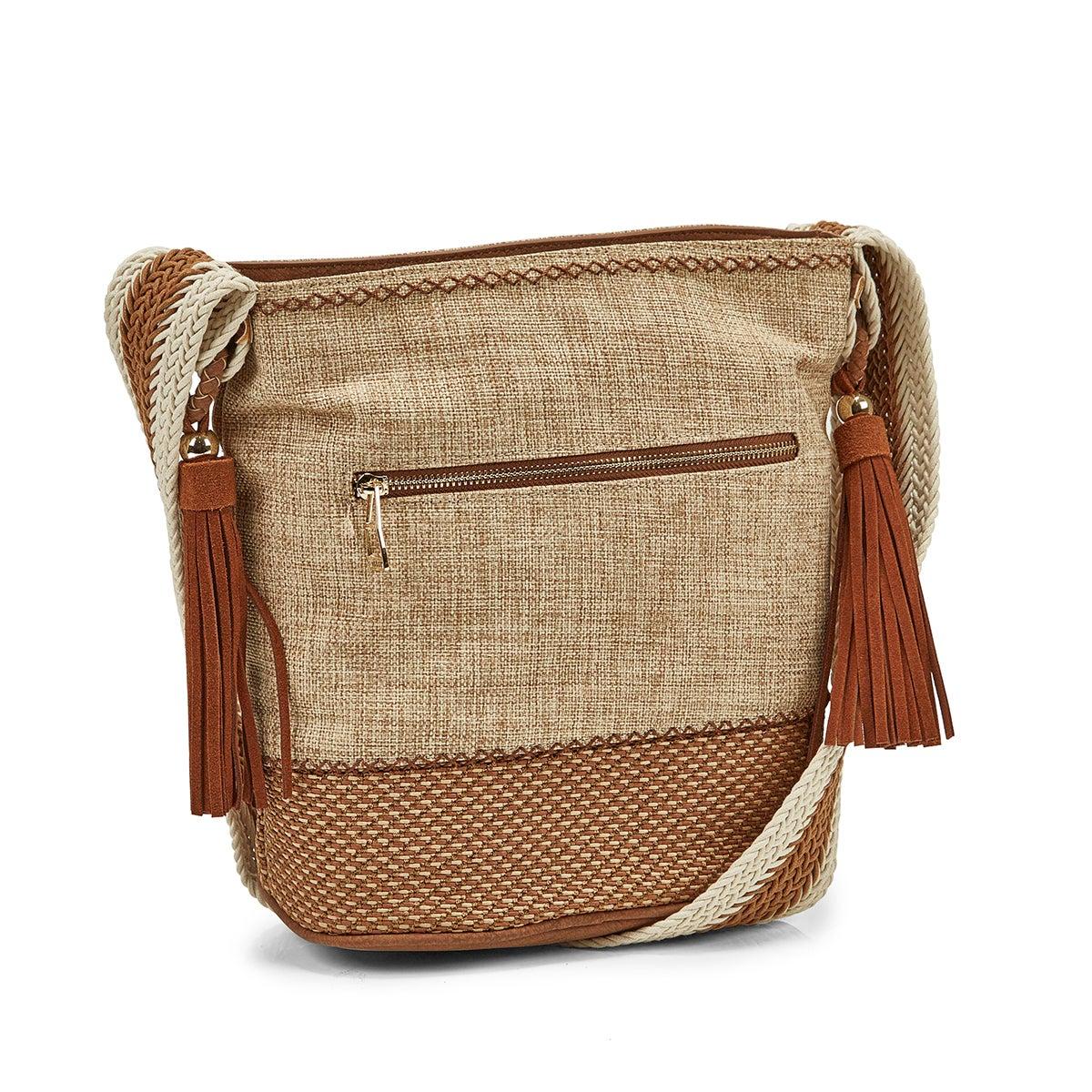 Women's JHUNTER natural tote bag