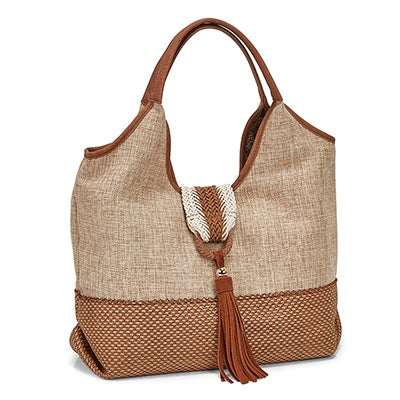 Lds JLogann natural hobo bag
