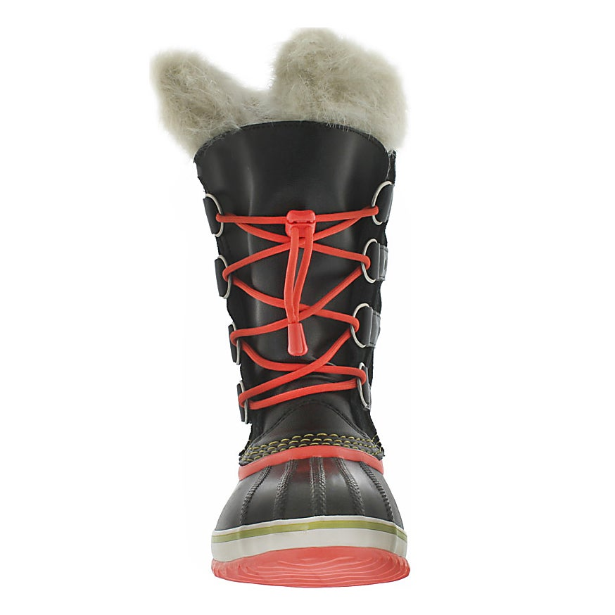Grls Joan Of Arctic Jr blk winter boot